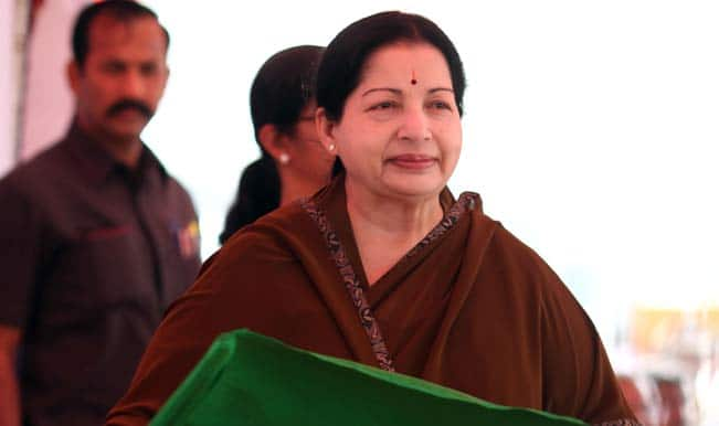 Tamil Nadu Chief Minister Jayalalithaa announces Rs.2,325 crore road projects