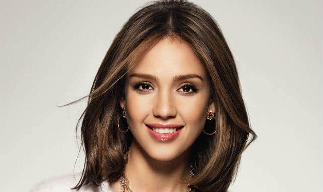Men in tight swimwear? Bad idea, says Jessica Alba
