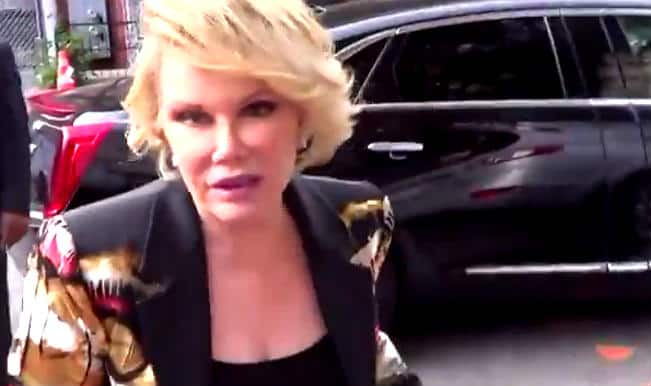 Joan Rivers: President Barack Obama is gay and Michelle Obama is a transgender!