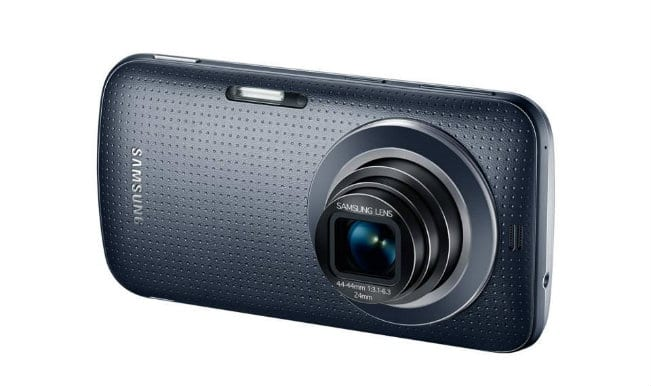 Samsung unveils Galaxy K Zoom 'cam-phone'; featuring 20.7 Megapixel camera and 10x optical zoom!