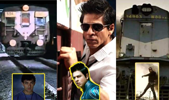 Salman Khan, Aamir Khan and Shah Rukh Khan: Who delivered the best 'train' stunt?
