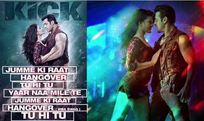 'Kick' Music Review: There is no Kick in its music!