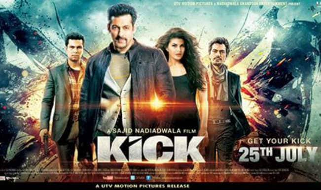 Salman Khan launches a game on his upcoming movie Kick!