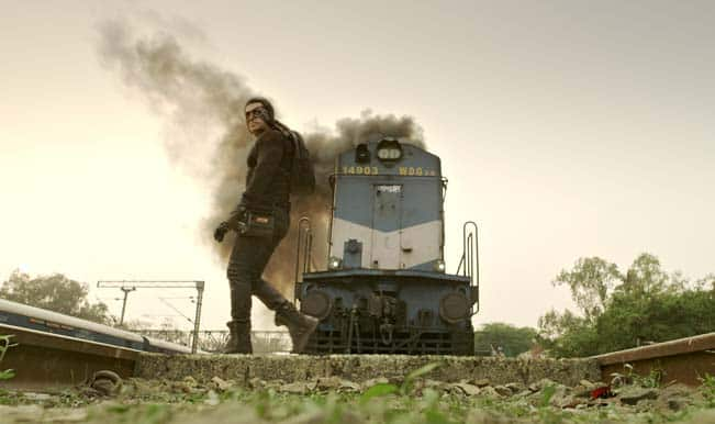 Kick: Salman Khan's train sequence is rated as the most stylish action shot ever!