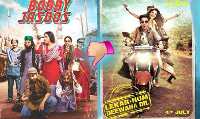 Bollywood Report: Bobby Jasoos and Lekar Hum Deewana Dil fail to impress audience this week!
