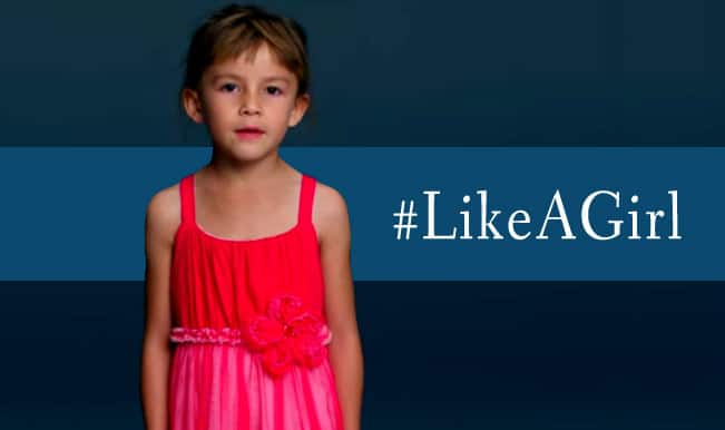 'Like A Girl' would be the biggest compliment after you watch this advertisement!