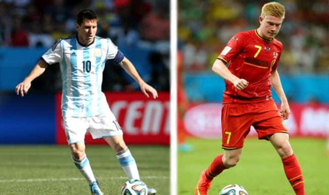FIFA World Cup 2014, Argentina vs Belgium: Key players to watch in 3rd Quarter-final
