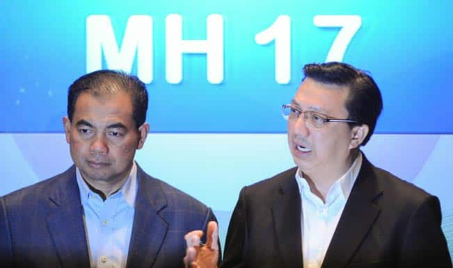 Malaysian Airlines MH17 never strayed into restricted airspace: Malaysian minister
