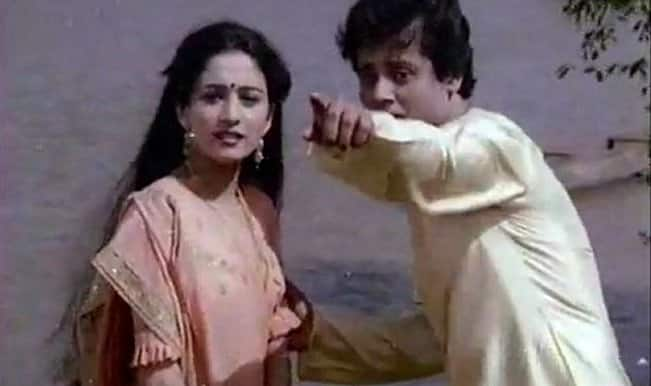 Watch: Controversial Tapas Pal was Madhuri Dixit's hero in her debut film Abodh!