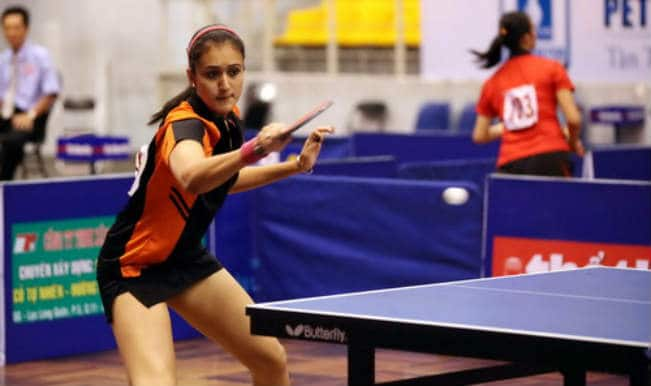 Paddler Manika Batra Honoured by Delh Police For Her Prolific Commonwealth Games 2018 Performance