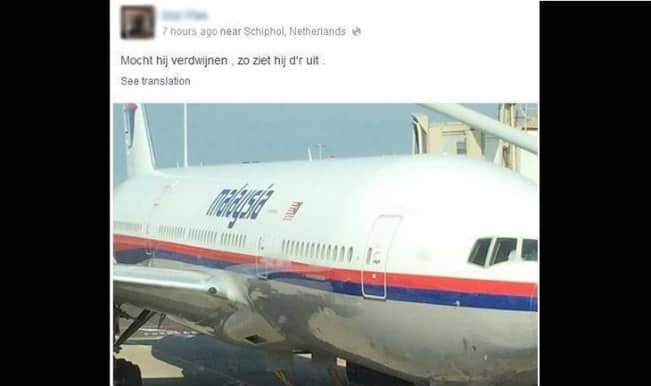 Facebook post from a Dutch passenger on Malaysian flight MH17 turns into tragic truth!
