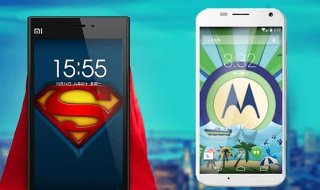 Xiaomi Mi3 vs Moto X: Which one is the bang for the buck!