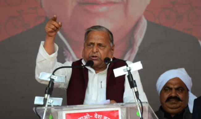 Samajwadi Party Chief Mulayam Singh Yadav sparks another row