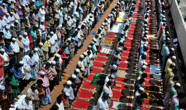 Muslims in Bangladesh celebrate Eid
