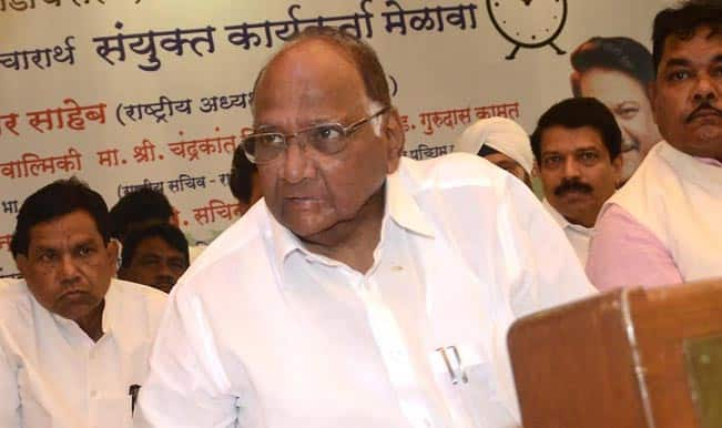 "Leader of Opposition an ""essential"" institution: Sharad Pawar"