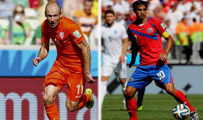 FIFA World Cup 2014, Netherlands vs Costa Rica: Key players to watch in 4th Quarter-final