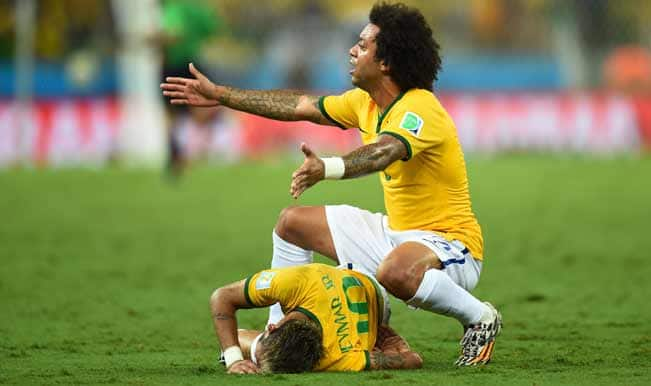 Neymar out of FIFA World Cup 2014