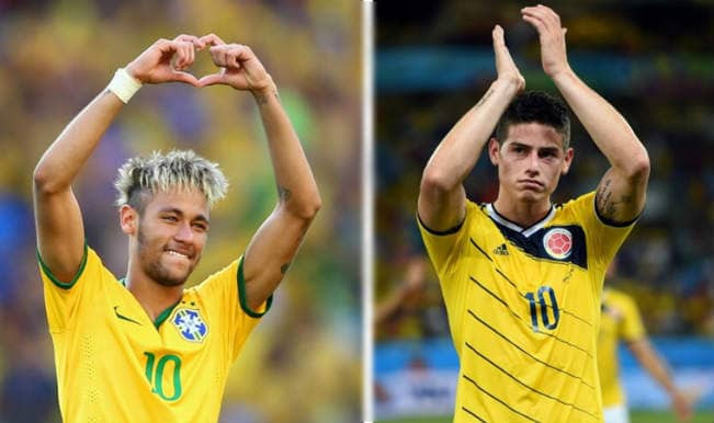 Neymar vs James Rodriguez