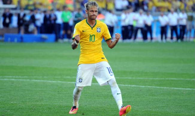 Brazil poster boy Neymar 'recovering well' from thigh, knee knocks