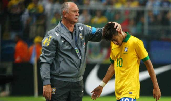 FIFA World Cup 2014: Neymar's agent calls Luiz Felipe Scolari 'old jerk'