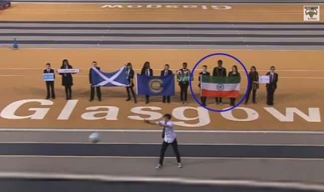 Commonwealth Games 2014 controversy: Official song shows Indian Flag upside down!