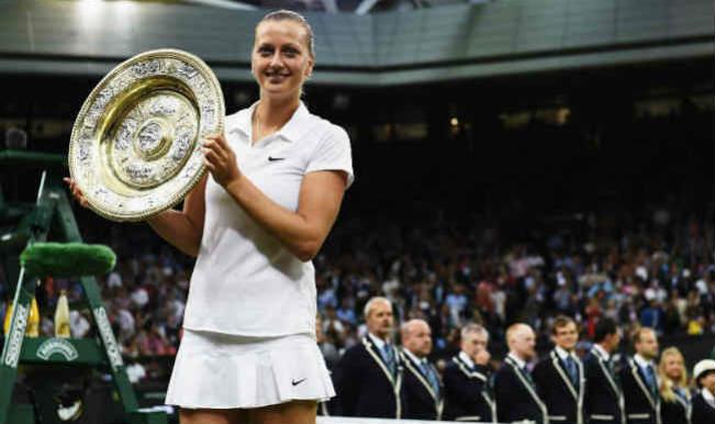 I wouldn't swap Wimbledon title for anything, says Petra Kvitova