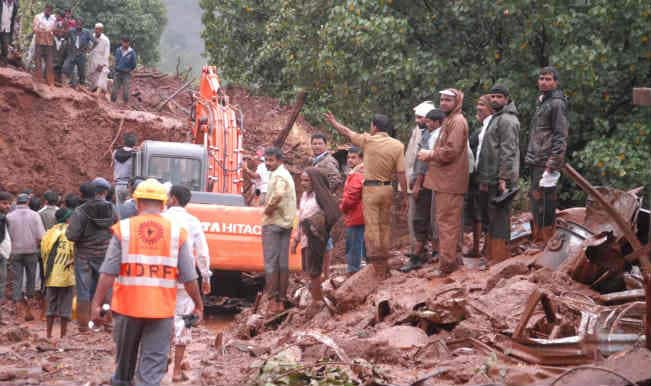 Pune landslide toll reaches 25, 160 still trapped