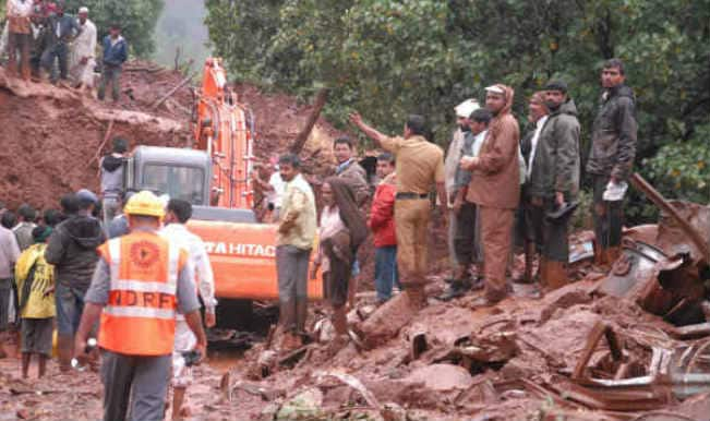 Pune village landslide: Rescue efforts on as toll mounts to 28