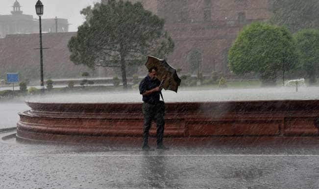 Rains hit capital offering respite from heat for Delhiites
