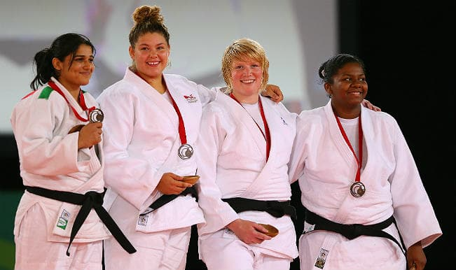 Rajwinder Kaur clinches judo bronze for India at Commonwealth Games 2014