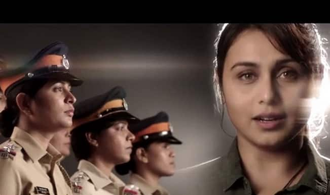 Watch: 'Mardaani' Rani Mukerji sings National Anthem as tribute to Indian women police!