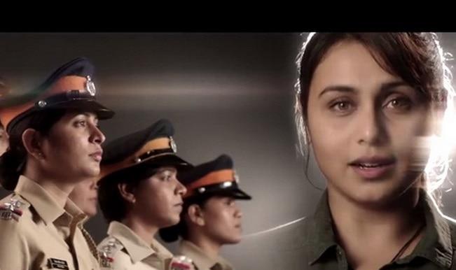 Watch: 'Mardaani' Rani Mukerji sings National Anthem as tribute to Indian women police!