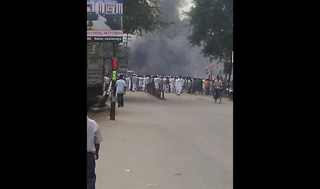 Curfew continues in violence - hit areas of Saharanpur, situation tense