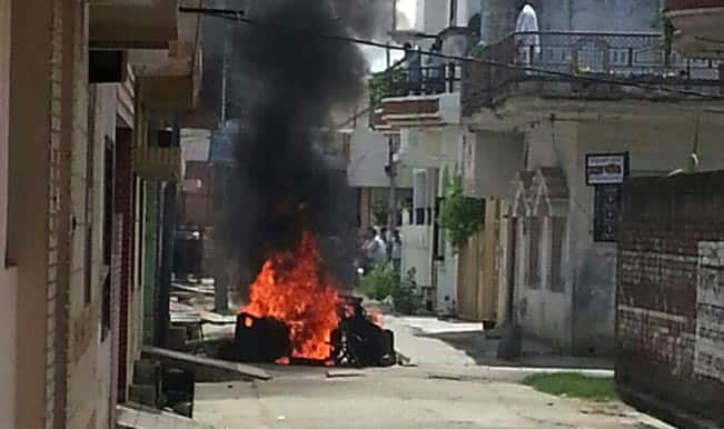 Sikh protesters term Saharanpur violence as conspiracy against minorities