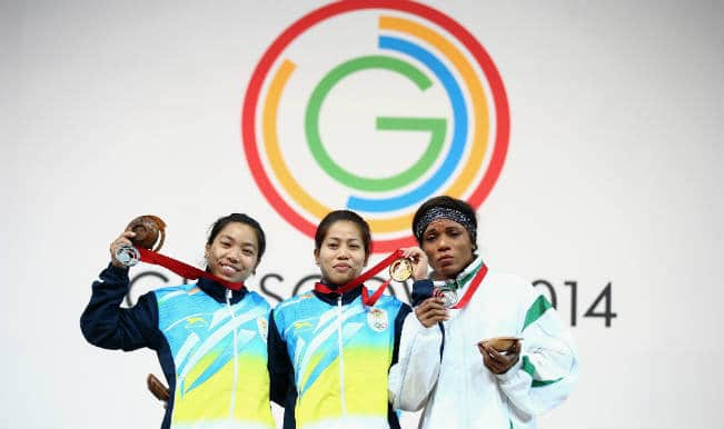 Commonwealth Games 2014: Weightlifters Sanjita Khumukcham wins gold, Mirabai Saikhom silver for India
