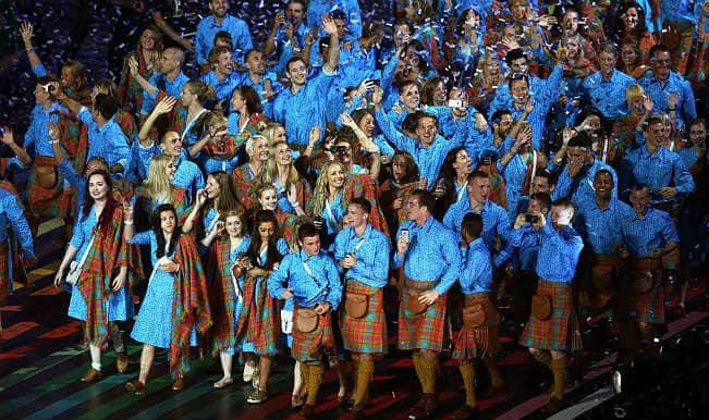 Commonwealth Games 2014 opening ceremony, full of Scottish flavour!