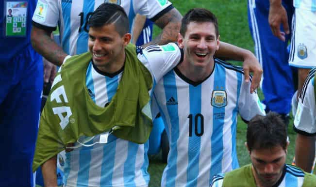 Argentinean Sergio Aguero set to return against Netherlands