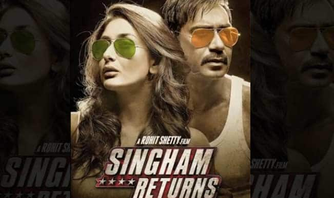 First Look: Watch Ajay Devgan and Kareena Kapoor sizzle in Singham Returns!