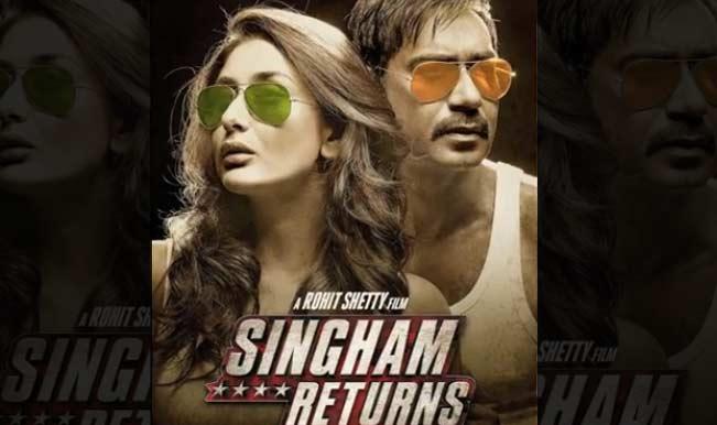 First Look: Watch Ajay Devgan and Kareena Kapoor sizzle in Singham Returns!