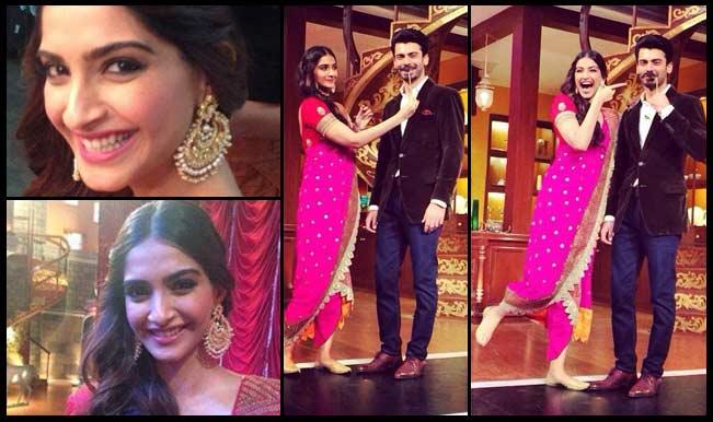 'Khoobsurat' Sonam Kapoor looks pretty in pink!