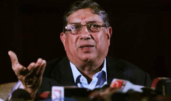 Judge Narayanaswami Srinivasan recuses himself from Indian Premier League spot-fixing case