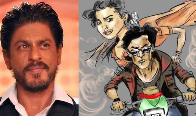 Shah Rukh Khan reacts to his cartoonish self: Take a look!