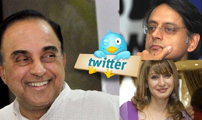 Dr Subramanian Swamy fires a fresh salvo at Congress; tweets on Sunanda Pushkar's 'murder'!