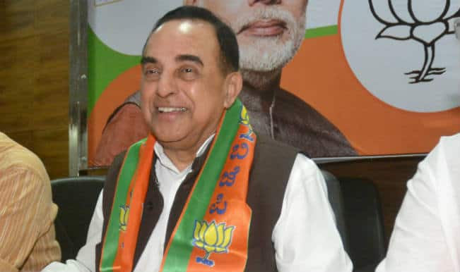FTII controversy: Protesting students are naxalites, says Subramanian Swamy