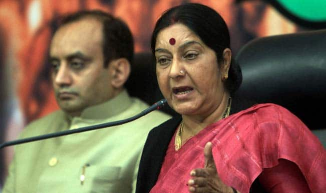 Sushma Swaraj asked Indians to leave Libya