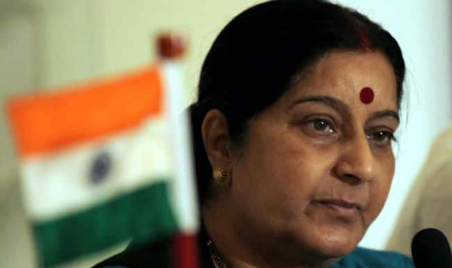 Sushma Swaraj meets political leadership of Nepal during her official trip