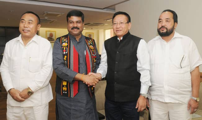 T R Zeliang hopes NDA govt will solve Nagaland problem