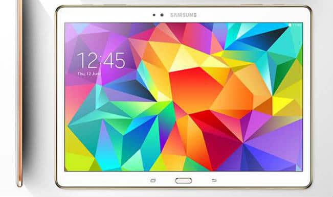 Samsung unveils Galaxy Tab S in India
