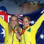Australia go on top of the Commonwealth Games medals table…