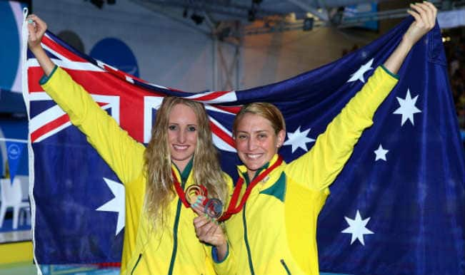 Taylor McKeown and Sally Hnter of Australia_CWG